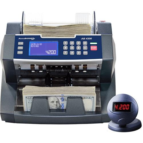 1-AccuBANKER AB 4200 UV/MG contador de notas