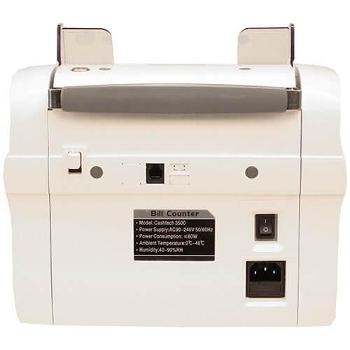 3-Cashtech 3500 UV/MG contador de notas