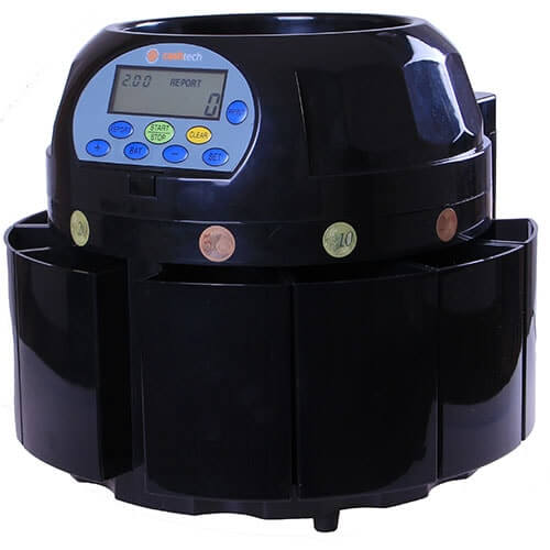 2-Cashtech 420 EURO contador de moedas