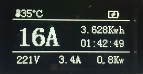 4-EV EVSE Type1 (max. 16A) Cabo EV